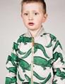 WENDY 18m-12y Crocodile Impreso Chaquetas de Bebé Niños Niñas de Algodón Outwear Abrigos Otoño Invierno Ropa 2015 de Los Niños