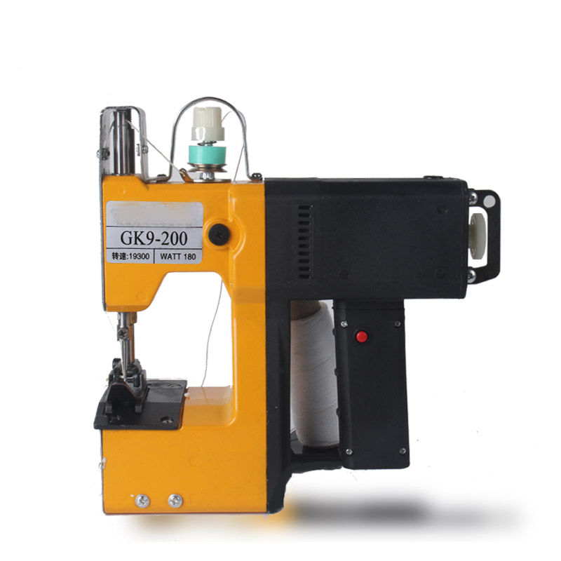 Portable Electric Sewing Machine For Woven Paper Bag Stitching 220V cb3200 harness leather heavy leather sewing machine for saddle and harness tote bag and shoes special sewing machine 220v 50hz