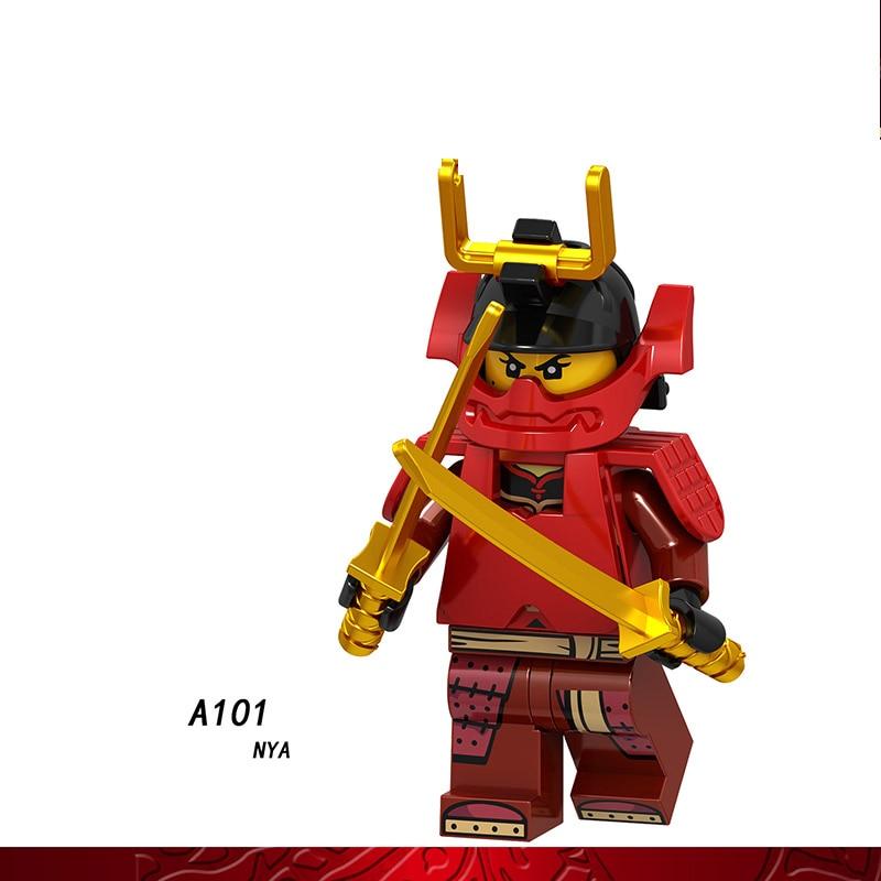 Single Sale LegoINGlys Ninja Figures NAY WU SCOUT LLOYD Bricks Building Blocks Collection Toys For Children Gift