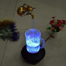 Творческий Чайник Статуэтки Главная Деко Электронные Магия Приостановлено Чайник Персонализированные Плавающей Чайник Фигурка Магия Подарок На День Рождения