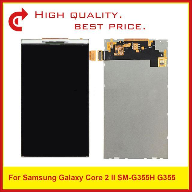 "10Pcs/Lot 4.5"" For Samsung Core 2 SM G355H G355M G355H G355 Lcd Display Screen Pantalla Monitor 355 G355 LCD Replacement"