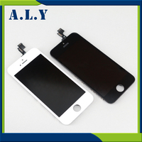5PCS LOT No Dead Pixle Grade AAA Quality LCD With Oem GLass For IPhone 5s Assembly