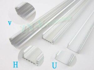 Image 3 - Bande lumineuse super brillante avec coque en Aluminium + housse de pc, 10 pièces * 50cm barre de LED LED, 50CM, DC12V 36 SMD 5630, livraison gratuite