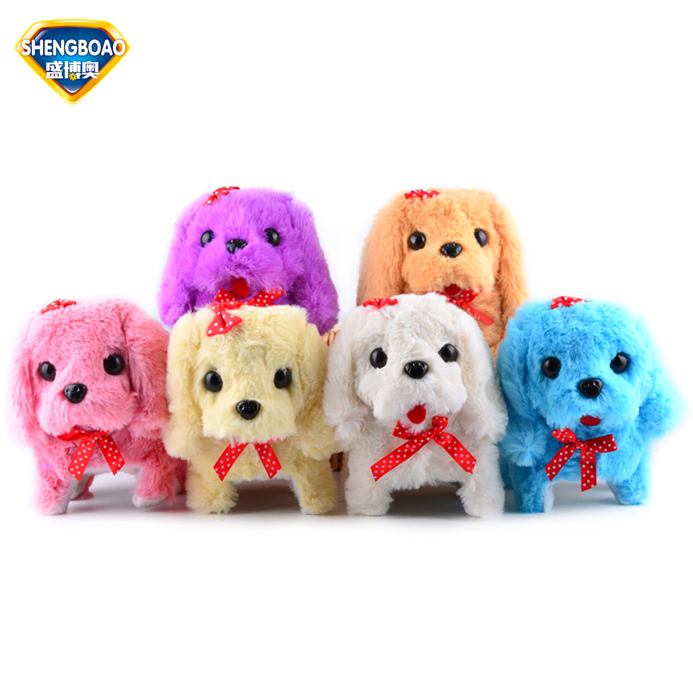 Electronic Dogs Interactive Electronic Pet Sound&Walking Dog Toy Electronic Education Toy Pets for Children play House Best Gift