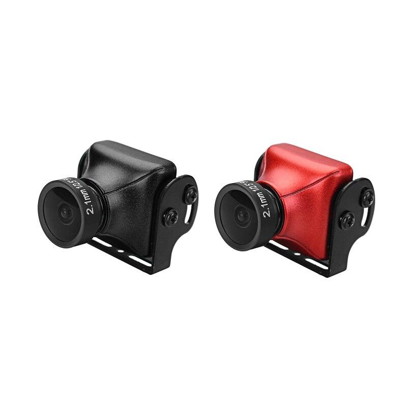 JJA-CM1200 1/3 CMOS 1200TVL Mini Caméra 2.5mm Objectif Avec OSD Bouton PAL/NTSC Noir/Rouge Pour RC Drone Modèles Racing Quadcopter