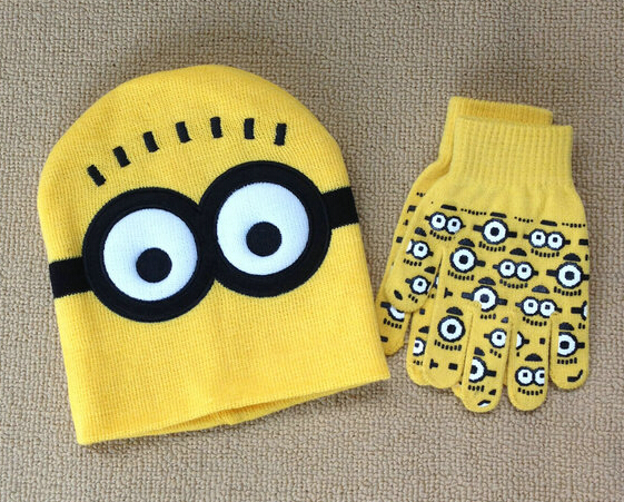 4c1a2f176df New Just Arrived Retail 1 set Minions Free shipping baby boys 2016 Children  Dave cartoon winter