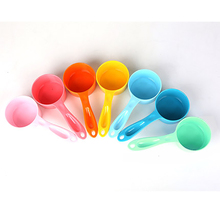 Super pet food spoon Dog and cat food bread scoop shovel measuring cup The dog pet products Straight round food scoop