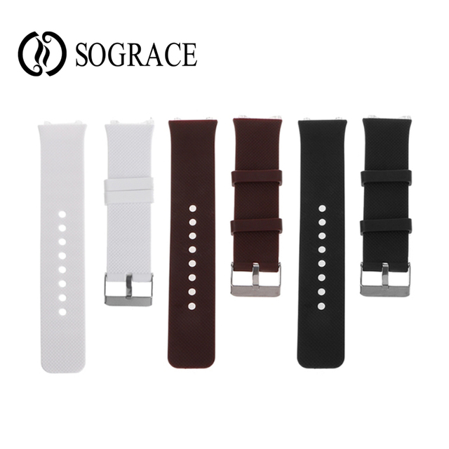 17c477605 PK Q18 Smart Watch Strap Silicone Wrist Band Strap Metal Buckle Bracelet  Replacement For DZ09 Smart Watch