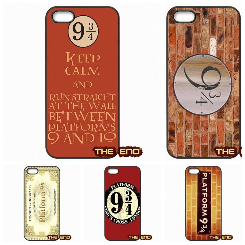 Harry Potter Platform <font><b>9</b></font> 3 <font><b>4</b></font> Plastic Black Phone Cover Case For <font><b>1</b></font>+ One Plus 2 <font><b>X</b></font> For Motorola Moto E G G2 G3 <font><b>1</b></font> 2 3rd Gen <font><b>X</b></font> X2