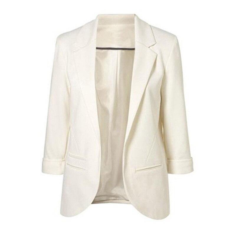 Suit   Jacket   Candy Color Slim Suit Women   Basic     Jacket   9a098