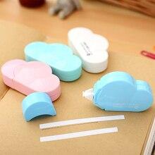 1 х креативная лента для коррекции формы в виде облака материал каваи Эсколар корейские канцелярские принадлежности Школьные принадлежности papelaria