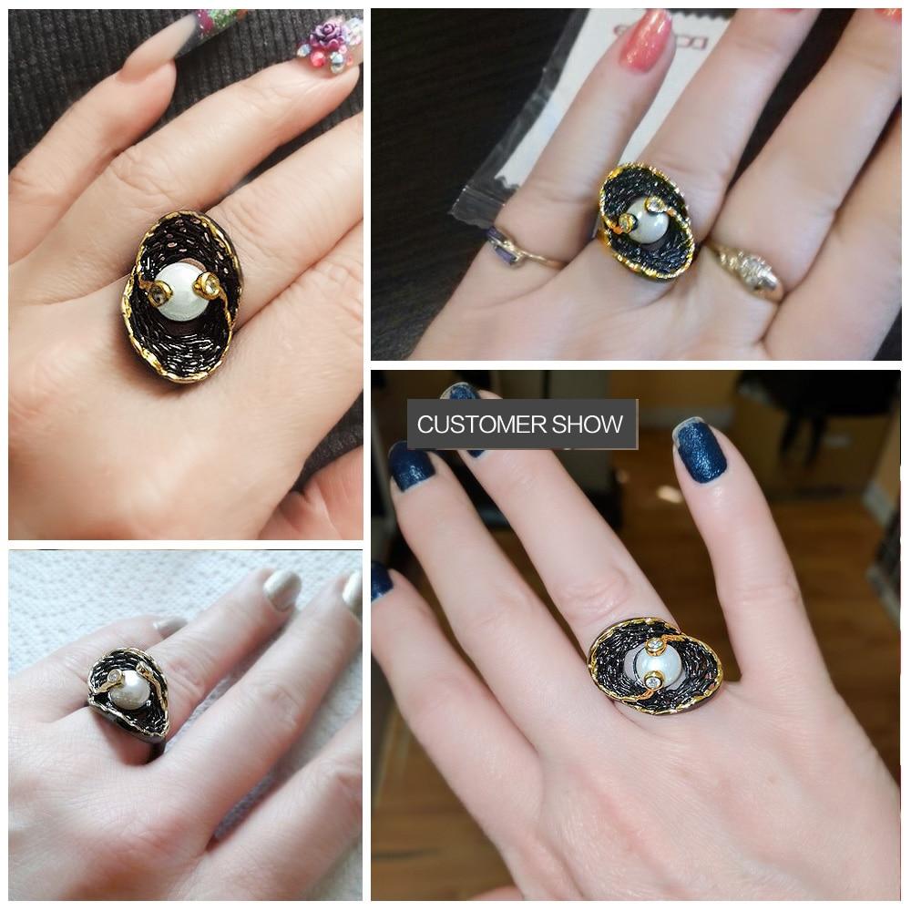 pearl ring 13