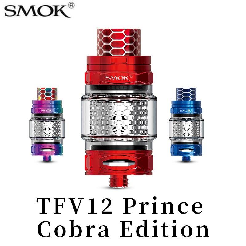 Vape SMOK TFV12 Prince Cobra édition réservoir Cigarro atomiseur électronique Vaporizador Alien Mod vaporisateur bobine pour SMOK Mag S3168