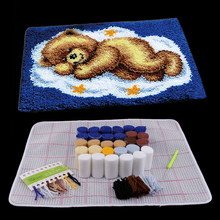 Набор ковриков с крючком-защелкой и медведем, подушка diy Коврик для детей, взрослых, начинающих, 50х40см