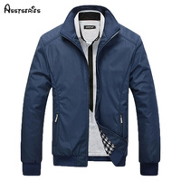 2018 nouveau style Veste Manteau Hommes Porter Automne Vestes Vêtements Robe Haute qualité Printemps Veste hommes col mandarin coton 45