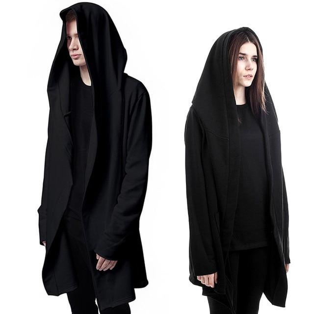 Original Design Spring Autumn Brand Men's Sweatshirt Hoodie Men Hood Cardigan Mantissas Black Cloak Outerwear