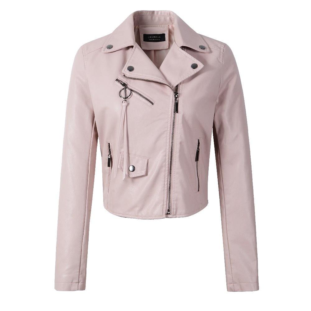 Neue 2019 frauen winter herbst neue kleidung marke mode schlank rosa - Damenbekleidung - Foto 3