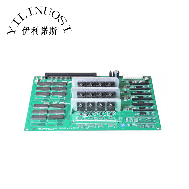 Roland SJ-540 / SJ-740 Head Board for 6 Heads printer parts original roland fp 740 sj 1000 sj 1045ex pulley printer parts