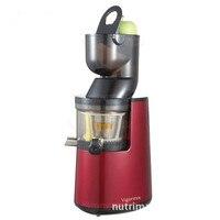 De grande calibre juicer extrator de suco de multi-função lento moinho Todo Maçã Suco de Fruta Vegetal Citrus juicer lento 220 v espremedor