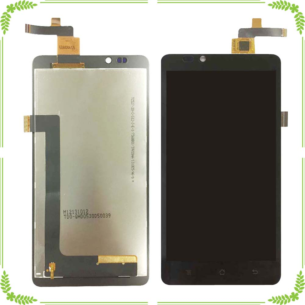 For Highscreen Omega Prime XL LCD Display and Touch Screen 100 Tested Assembly Repair Part Mobile