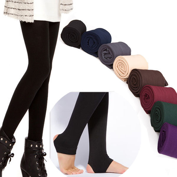 Women's Warm Winter Fleece Lined Trampling Leggings