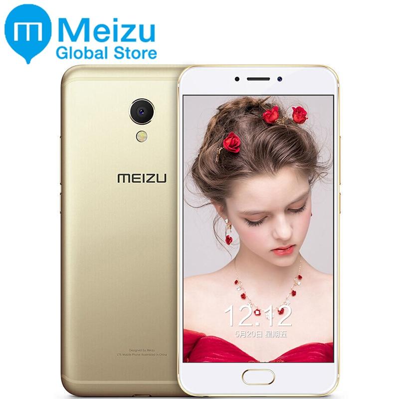 """bilder für Ursprüngliche Meizu MX6 4 GB 32 GB Handy Android Celular Deca Core 1920x1080 P 5,5 """"12MP Fingerprint MX 6 M685Q M685H"""