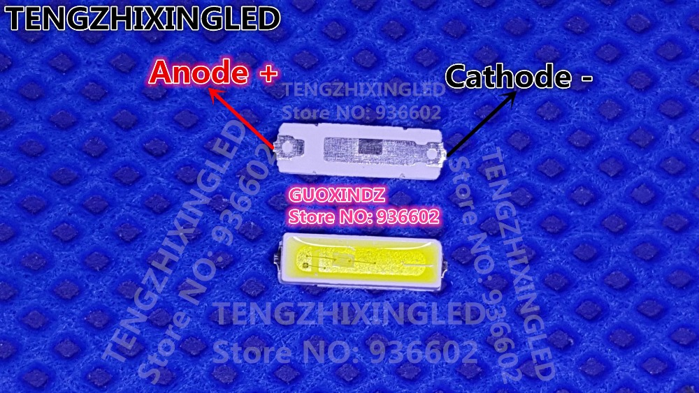 Back To Search Resultselectronic Components & Supplies Skillful Knitting And Elegant Design Lextar Led Backlight 0.5w 7020 3v Cool White 40lm Lcd Backlight For Tv Tv Application To Be Renowned Both At Home And Abroad For Exquisite Workmanship