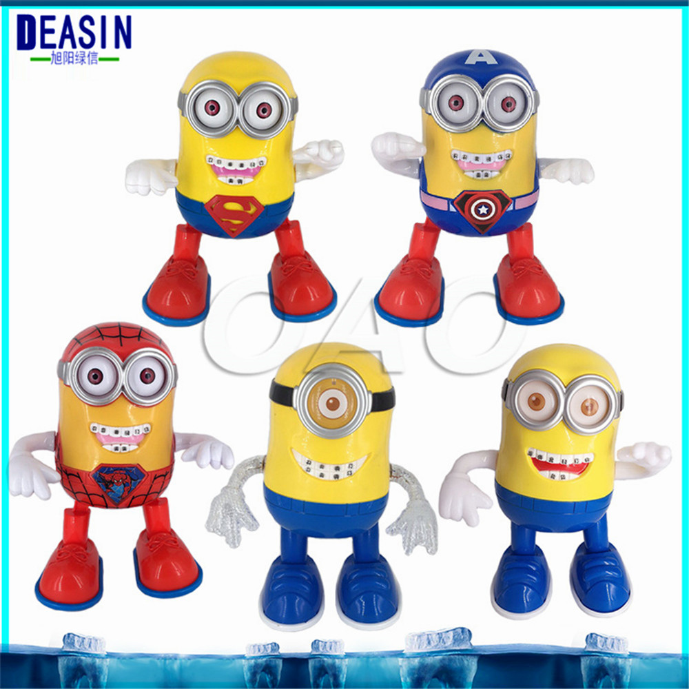 dental orthodontics toy doll Movie Toy Minion Jorge Stewart Dave can Walking can singing can dancing dental gifts jorge drexler quito