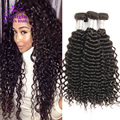 8A Unprocessed Virgin Hair 4pcs Brazilian Deep Wave Brazilian Tight Curly Virgin Hair Best Vendor Human Hair Brazilian Wavy Hair