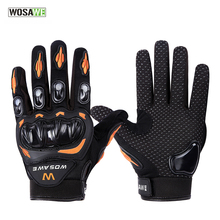 WOSAWE Motorcycle Gloves Waterproof Windproof Protective Racing Gloves Full Finger Breathable Guantes Luvas Cycling Gloves