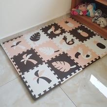 Jcc 8/24 個オオハシスタイル赤ちゃんのevaフォームパズルプレイマットマット/子供の敷物カーペット連動マットのための子供タイル 30*30*1 センチメートル