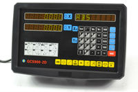 2 AXIS Digital Readout Console Display DRO KITS With Linear Scale 0.005mm Linear Encoder Measure Tools For Mill Machine & Lathe
