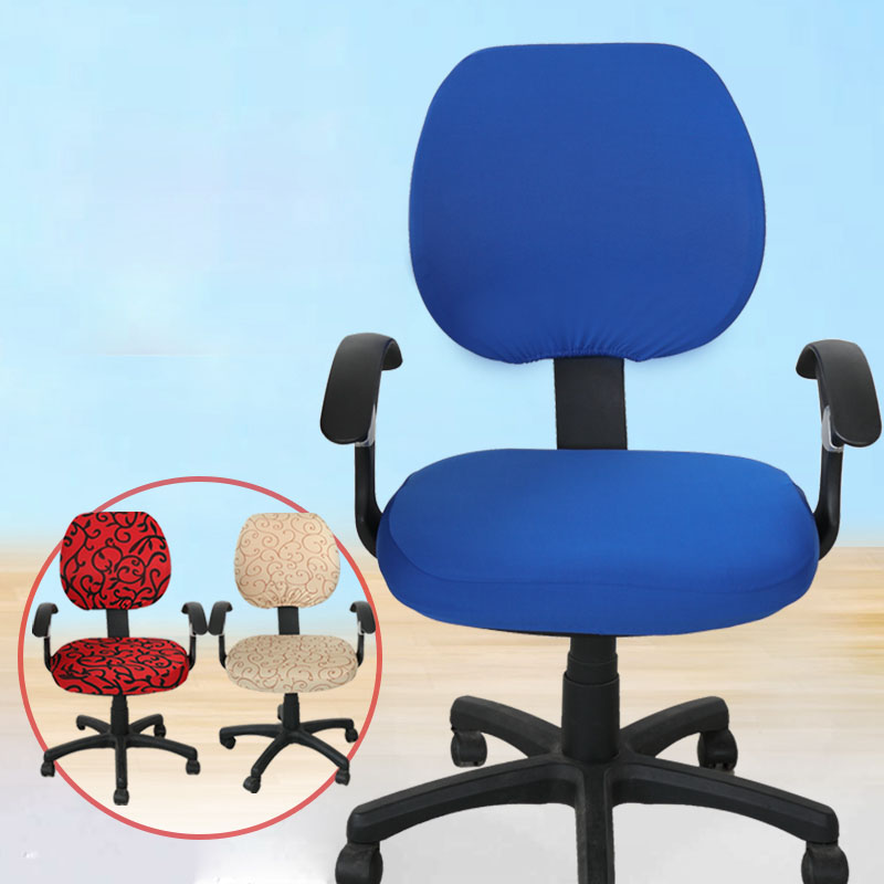 office chair fabric cover. office computer chair covers cover armrest seat fabric stool set swivel one e