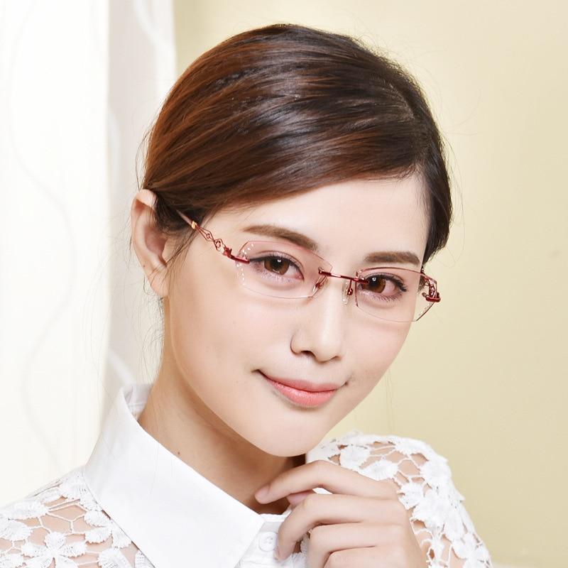 Marke Designer Myopie Gläser Frauen Gläser Optische Luxuriöse Damen ...