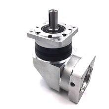 цена на High Precision 110mm Right Angle AC Servo Reducer Ratio 4:1 Rated 3000rpm Speed Planetary gearbox reducer for NEMA44 Servo Motor