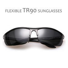 POLARSNOW TR90 Polarized Sunglasses For Men Goggle Driving Sun Glasses Male Eyewear Oculos De Sol Masculino