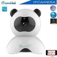 Wthung Wifi IP Camera PTZ Full 2MP HD 1080P CMOS Sensor Support SD Card Max64G IR