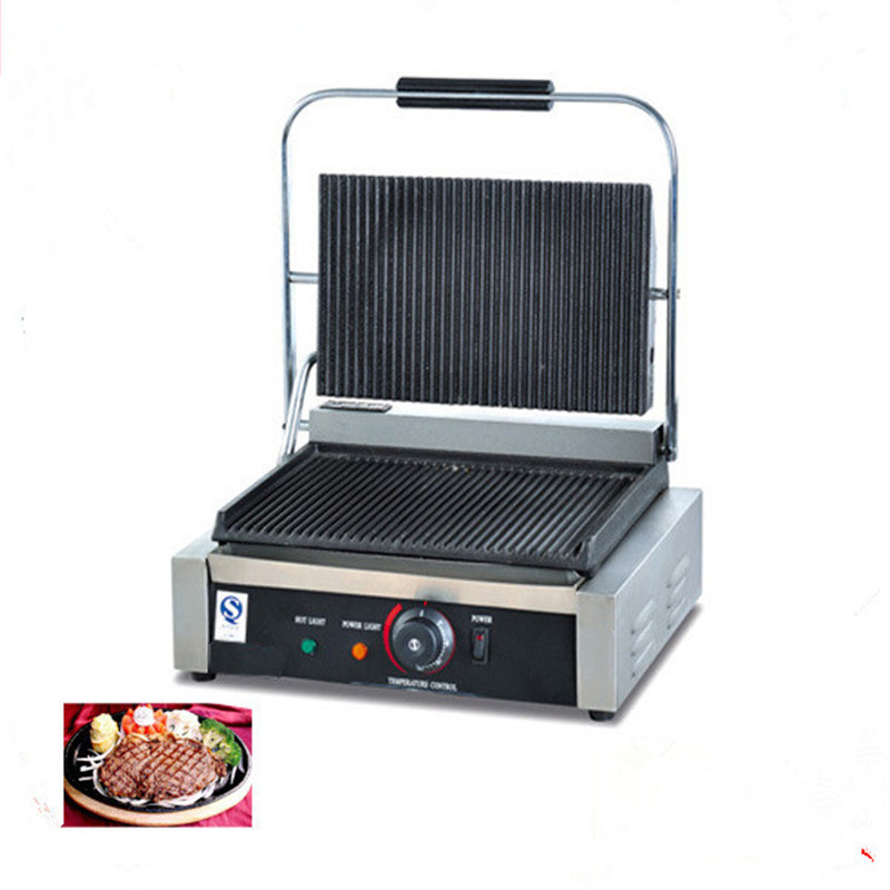 Professional electric grill electric griddles sandwich press panini grill ZFProfessional electric grill electric griddles sandwich press panini grill ZF