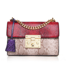 Luxury Handbags Women Bags Designer Serpentine Crossbody Bags for Women 2017 Famous Brands Messenger Bag Female