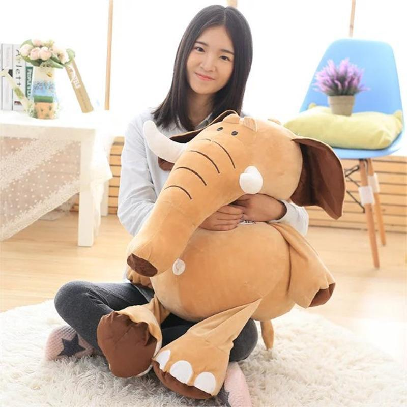 big new soft elephant toy lovely plush gray elephant doll gift about 90cm 2625 big creative plush elephant toy lovely stuffed jungle elephant gift doll about 80cm