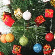 Christmas Tree Ball Baubles Xmas Party Wedding Hanging Ornament Christmas Decoration Supplies 8 colors Party Decor