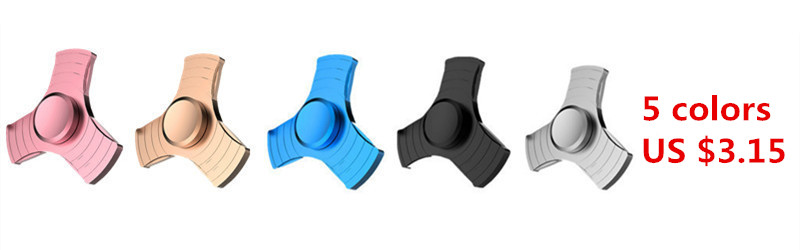 9 Colors Tri-Spinner Fidgets Toy Plastic EDC Sensory Fidget Spinner For Autism and ADHD Kids/Adult Funny Anti Stress Toys
