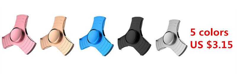 7 Design New EDC Tri-Spinner Fidget Toys Pattern Hand Spinner Metal Fidget Spinner and ADHD Adult decompression toys Action