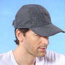 UV 〜より速く飛ぶ通気性防水ハンチング屋外旅行登山折りたたみ抗 男性の太陽の帽子