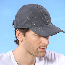 Outfly Breathable Waterproof Peaked Cap Outdoor Travel Mountaineering Folding Anti - UV Men 's Sun Hat