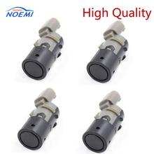 YAOPEI Sensor de estacionamiento PDC para coche, 4 Uds., asistencia de marcha atrás 66206989069, para BMW E39, E46, E53, E60, E61, E63, E64, E65, E66, E83, 66200309540