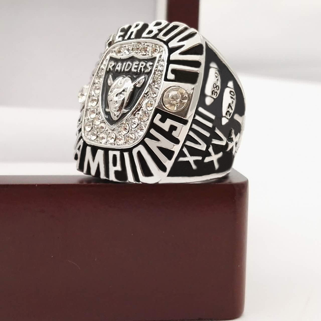 Who Can Beat Our Rings, High Quality  Super Bowl  Oakland Raiders  Replica Men World Championship Ring with Wooden Boxes