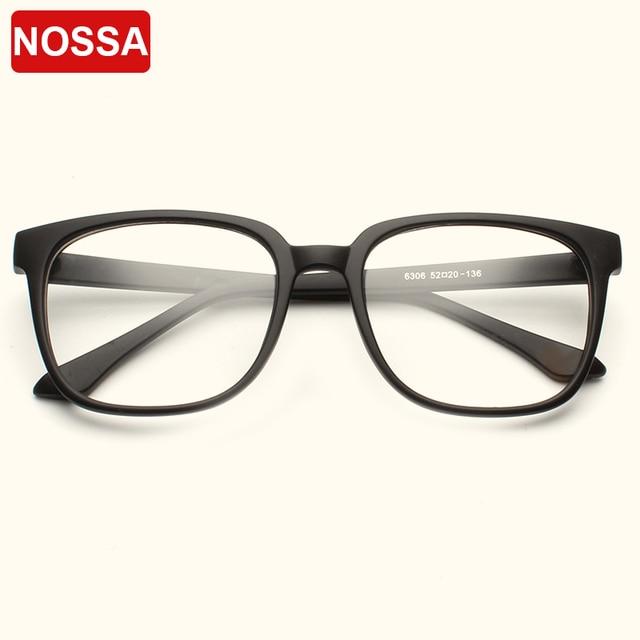 NOSSA Brand Vintage Square Optical Glasses Frames Male Female Big ...