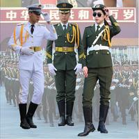 Handsome Flag Raiser Costume Honor Guard China National Performance Military Outfit Drum Army Guard of Honor Costume Clothing