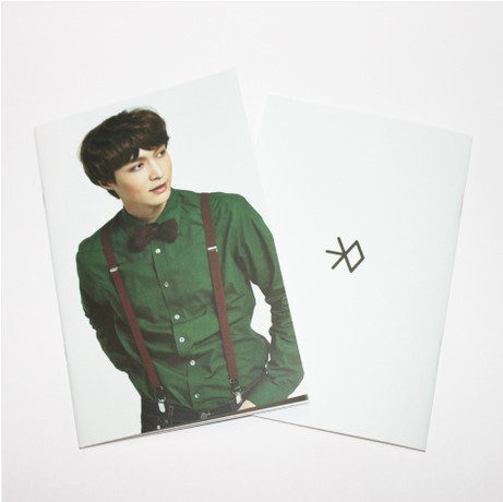 [MYKPOP]EXO Miracles LAY Photo Exercise Book Lined Big Study Notebook Workbook Diary Notebook KPOP Fans Collection SA18050805